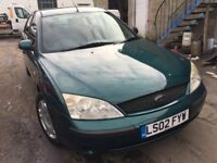 2002 Ford Mondeo, starts and drives well, MOT until April 2018, 1 owner since 2005, an absolute plea