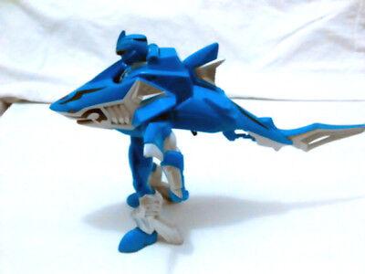 RARE...2008 Jungle Fury Power Rangers Jungle Master Blue Shark Ranger ](Power Rangers Jungle Fury Blue Ranger)