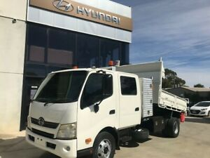 2012 Hino 300 Series 917 Dual Cab Tipper Pooraka Salisbury Area Preview