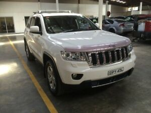 2012 Jeep Grand Cherokee WK MY12 Overland (4x4) White 5 Speed 5 SP AUTOMATIC Wagon