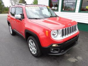 2017 Jeep Renegade Limited for only $219 bi-weekly all in!