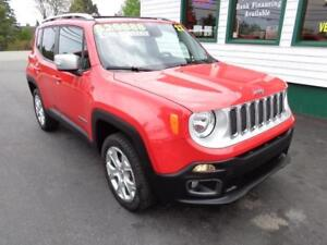 2017 Jeep Renegade Limited for only $236 bi-weekly all in!