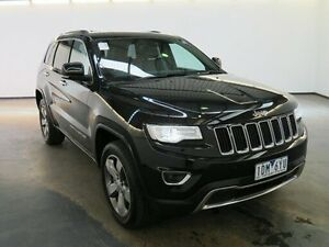 2014 Jeep Grand Cherokee WK MY15 Limited (4x4) Black 8 Speed Automatic Wagon Albion Brimbank Area Preview