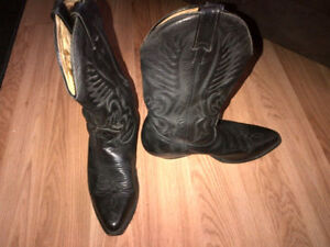Leather Cowboy Boots (Boulet is the brand) Cambridge Kitchener Area image 3