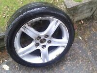 Lexus Alloy Wheel - (Original wheel design) with 215 x 45 x 17 Tyre