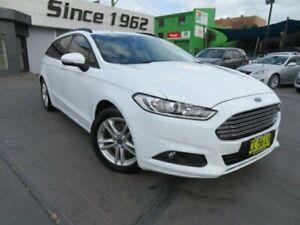 2015 Ford Mondeo MD Ambiente TDCi White 6 Speed Automatic Wagon Granville Parramatta Area Preview