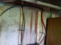 2 old hand scycles