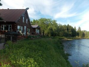 WATERFRONT PROPERTY with great MIRAMICHI fishing!!
