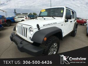 2016 Jeep Wrangler Unlimited Rubicon w/ Leather, Navigation