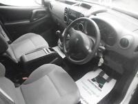 Peugeot Partner L2 716 S 1.6 Hdi 92 Crew Van DIESEL MANUAL WHITE (2014)