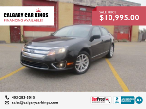 2010 Ford Fusion SEL LOADED LEATHER Navigation AWD