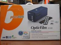The Plustek OpticFilm 8100 is a high quality 35mm film and slide scanner.