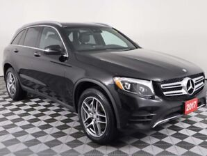 2017 Mercedes Benz GLC w/FOUR NEW TIRES, PANORAMIC ROOF, NAVIGATION