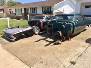 CHEVY CHEVELLES! BOTH! 1966 MUSCLE CARS!