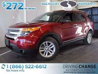 2013 Ford Explorer XLT-Nav-Heated Leather Seats