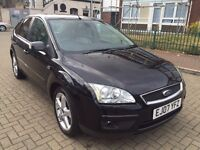 2007 Ford Focus 2.0 Ghia 5dr, AUTOMATIC, LEATHER HEATED SEATS, NAVIGATION, PARKING SENSORS,