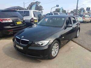 2006 BMW 320i E90 Executive Black 6 Speed Steptronic Sedan Greenacre Bankstown Area Preview