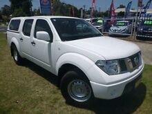2012 Nissan Navara D40 MY12 RX (4x2) Polar White 5 Speed Automatic Dual Cab Pick-up Horsley Wollongong Area Preview