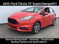 2015 Ford Fiesta ST Super Charged!!! Recaro Seats ~ Only $26,557