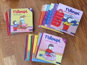 Collection livres T'choupi