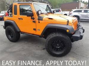 2012 Jeep Wrangler JK-8 4X4! ONE OF A KIND! 35'' DURATRAC TIRES!