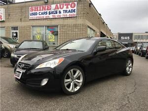 2010 Hyundai Genesis Coupe Coupe 2.0t 6 SPEED, LEATHER, SUNROOF
