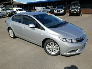 2013 Honda Accord 9th Gen MY13 VTi-L Alabaster Silver 5 Speed Sports Automatic Sedan Bungalow Cairns City Preview