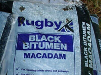 25kg bag Black Bitumen Macadam