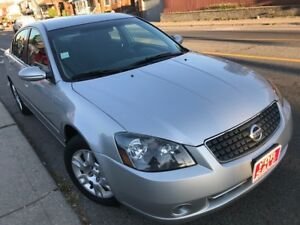 2006 Nissan Altima, LOW KM, can Certify,E-Test, FREE Car proof