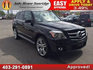 2010 Mercedes GLK 350 4MATIC NAVI BCAM LOW KM 90 DAYS NO PYMT