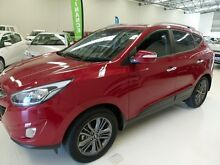 2014 Hyundai ix35 LM MY13 Elite (AWD) Red 6 Speed Automatic Wagon Welshpool Canning Area Preview