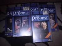 the prisoner full set of 17 episodes & original version of big ben vhs