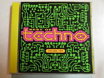 BEST OF TECHNO VOLUME TWO 12 TRK CD ELECTRONIC BREAKBEAT HARDCORE PCD-1426