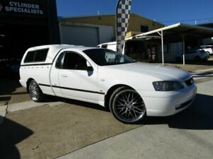 2005 Ford Falcon BA Mk II SE Ute Super Cab White 4 Speed Sports Automatic Utility Moorooka Brisbane South West Preview