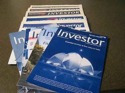 BRITISH AIRWAYS INVESTOR NEWSPAPER/SUMMARY FINANCIAL STATEMENTS