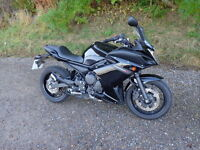 2012 yamaha xj6 f abs diversion in black only 940 miles finance available part exchange possible