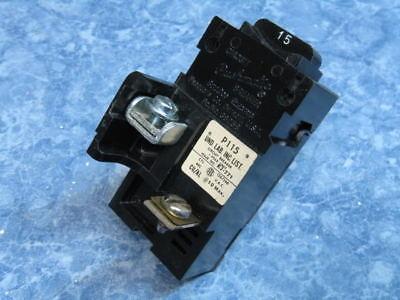 15 Amp Pushmatic Ite Siemens Gould P115 Single Or 1 Pole Circuit Breaker Nice