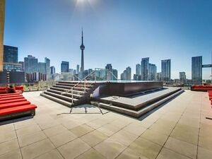 Furnished 1 Bed plus Den - Best Condo King West w Roof Top Pool
