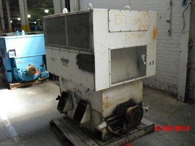 500 Hp Westinghouse Ac Electric Motor 3600 Rpm Fr 5010h Wpiisb 2300 V Eok