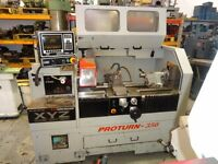 XYZ PROTURN 350 SEMI CNC TEACH LATHE