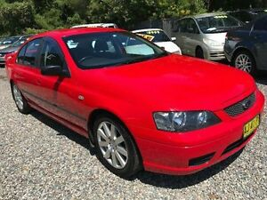 2006 Ford Falcon BF XT Red 4 Speed Sports Automatic Sedan Jewells Lake Macquarie Area Preview