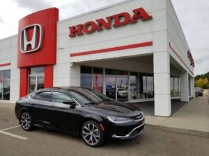 2016 Chrysler 200 C V6 **ULTRA LOW K's** PANO ROOF, LEATHER..!!