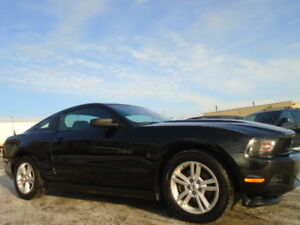 2012 Ford Mustang SPROT PKG-V6-AFTERMARKET EXHAUST--6 SPEED-136K