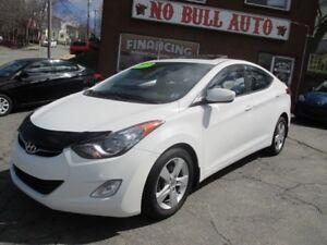2013 Hyundai Elantra GLS, Sunroof, $49 Week, tax in, OAC