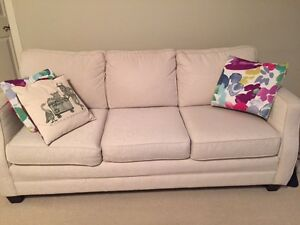 Ivory 3-seater couch