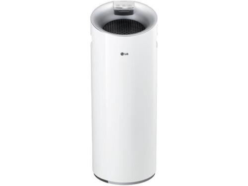 LG AS401WWA1 PuriCare Tower 3-Stage Filter Air Purifier with Smart Air Quality S