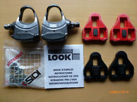 Look PP176 pedals. Only used once, excellent condition.