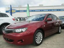 2011 Subaru Impreza G3 MY11 R AWD Special Edition Red 4 Speed Sports Automatic Sedan Greenslopes Brisbane South West Preview