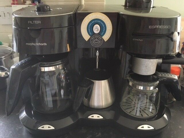 Morphy Richards Cafe Rico Combi Coffee Maker With Heated Milk
