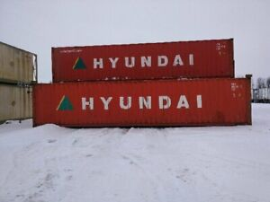 40' SHIPPING/STORAGE CONTAINERS
